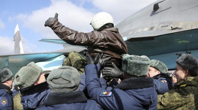Reaction to the Withdrawal of Russian Aerospace Forces from Syria
