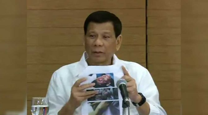 Disgusted Duterte Condemns the Twin Evil of the Deep State