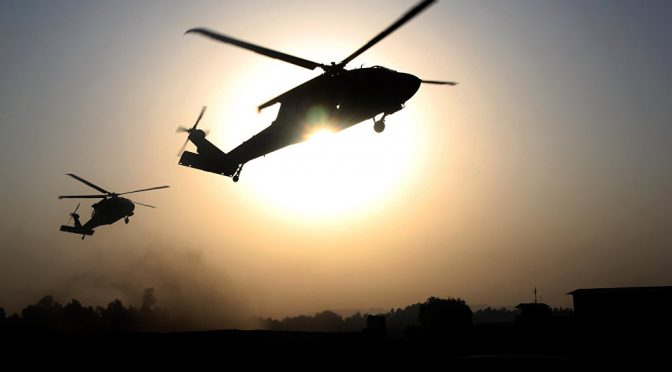 CIA Pentagon Helicopters Caught Transporting Daesh Terrorists Again