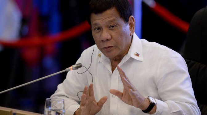 Duterte Formally Withdraws from the Deep State ICC