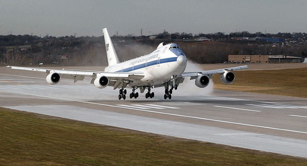 Us Doomsday Plane Went Airborne Russia Activated Bomb Shelters