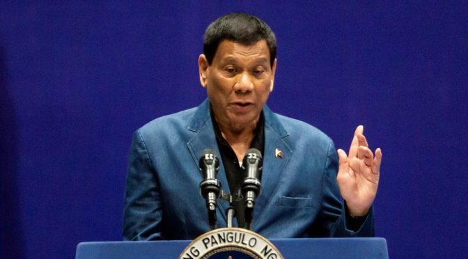 Will Duterte Survive vs. the Jesuit, CIA and Communists?