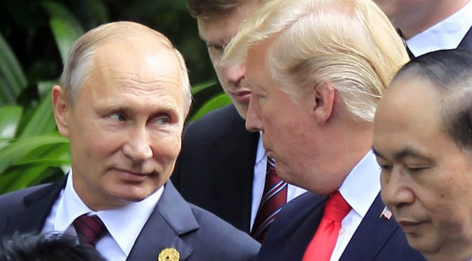 Globalists are at the Apex of Panic on the Way to Putin-Trump Summit
