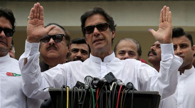 Imran Khan Takes Over Pakistan in Another Deep State Upset