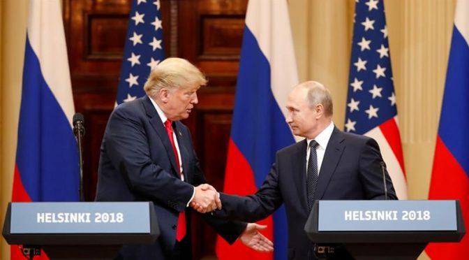 Bold Historic Putin-Trump Summit Seals Deep State's Fate