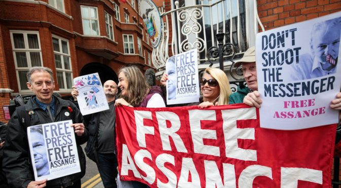 UK Parliamentarians, the British Press and Julian Assange