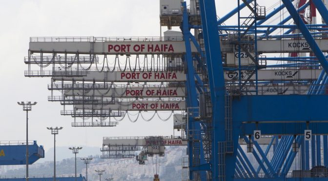 China Drops the 25-year Anchor in Israeli Haifa Port