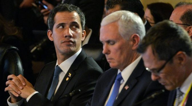 Mike Pence Plans to Bribe Venezuelan Military Generals to Turn Against Maduro