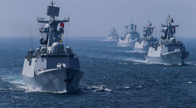 Battleships and war planes gather near Indonesia as U.S./China proxy war escalates