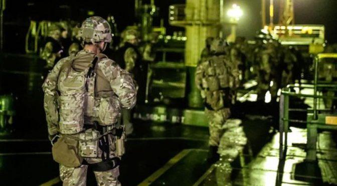 30 British Marines Seized Iranian Oil Tanker