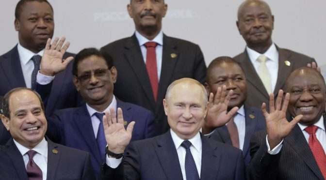 Russia Writes Off More than $20 Billion African Debt