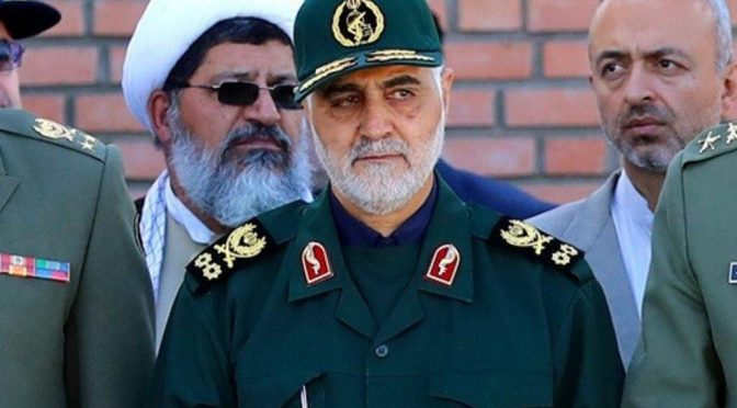 Legendary Iranian Quds Force Commander Maj. Gen.Soleimani Assassinated on Trump's Order