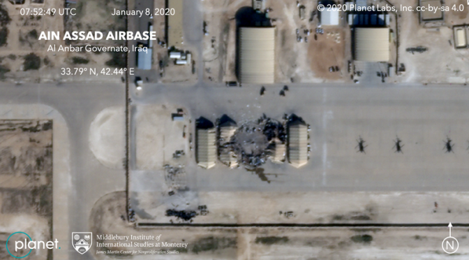 "Satellite Photos Confirm Iranian ""Warning Slap"" Missile Precision"