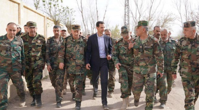 Putin's Visit Coincided with Syrian Arab Army Preparation to Clear Idlib of ISIS