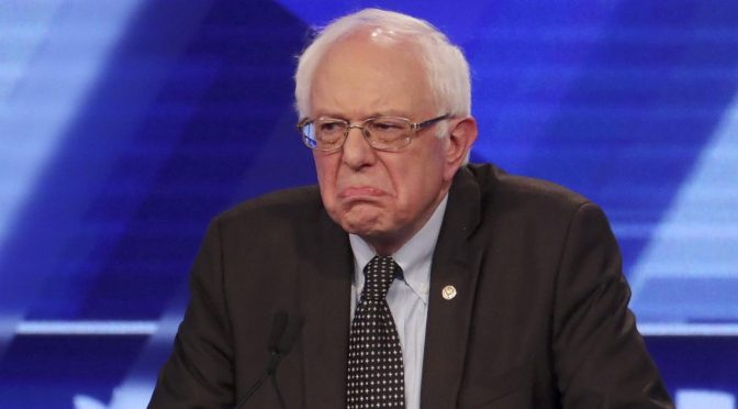 Bernie Railroaded Again: 'Technical Glitch' in Democratic Party Voting App