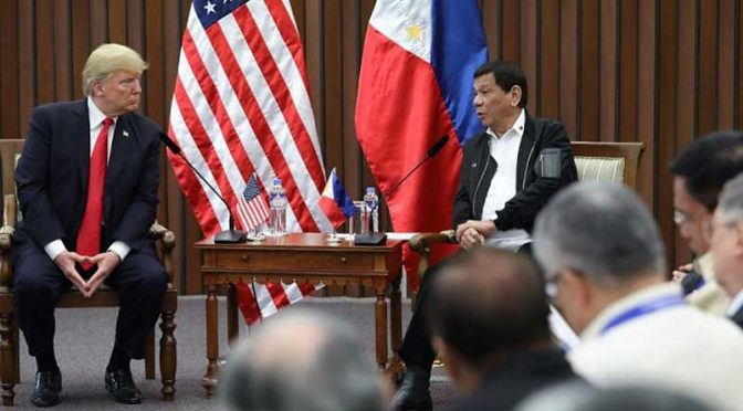 Duterte Scraps Visiting Forces Agreement with U.S. in spite of Trump Admin Trying to Save it