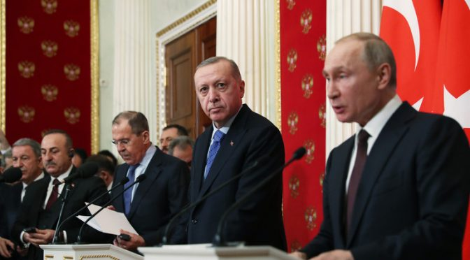 Putin Thumbs Down Erdogan's Ottoman Ambition in Syria