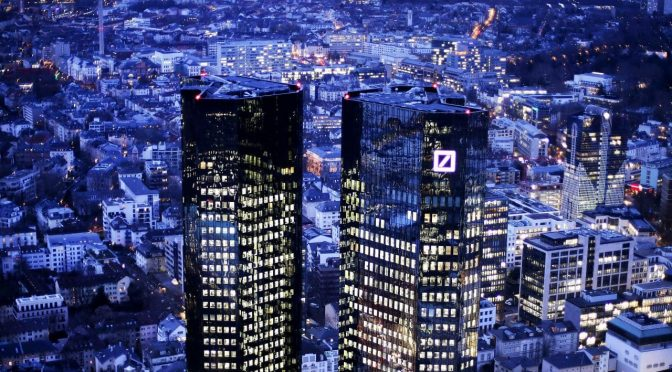 Deutsche Bank Close to Bankruptcy