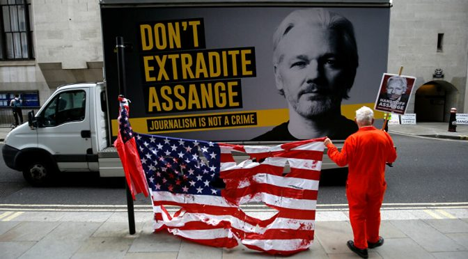 "Assange ""Discharged"" on Grounds of Suicide Risk if Rendered to U.S. Custody"