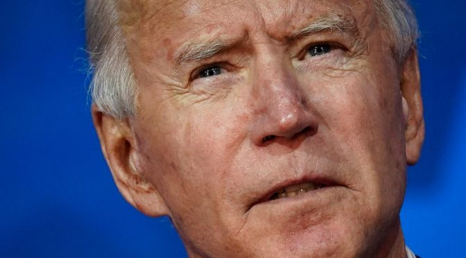 The Task of 'Sleepy Joe' is to Put Liberal America Right Back to Sleep