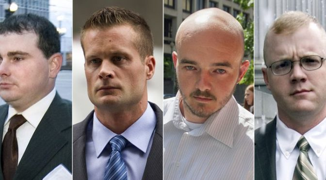 Trump Pardons Blackwater Mercenaries, But Not Julian Assange