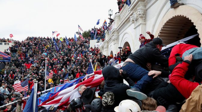 The Storming of The US Capitol is A Symptom of a Bigger Disease
