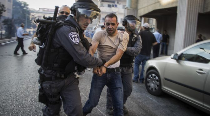 Israeli Violence in Arab Cities Reaches Intolerable Levels