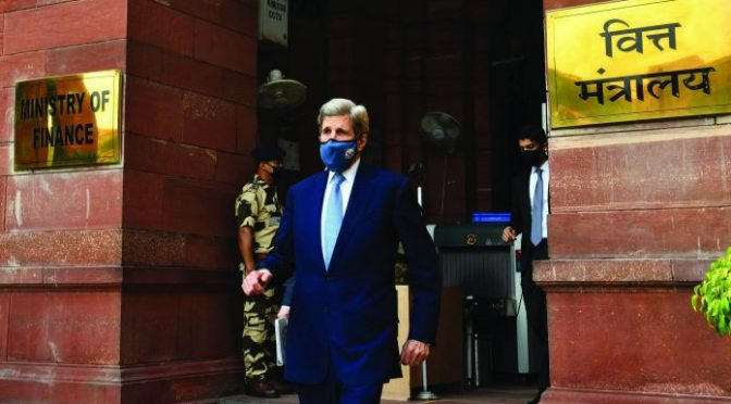 Kerry Lunges Into India With Anti-BRI Agenda Bringing Green Suicide for All