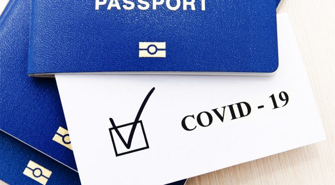 European Commission Introduces EU-Wide COVID Passports