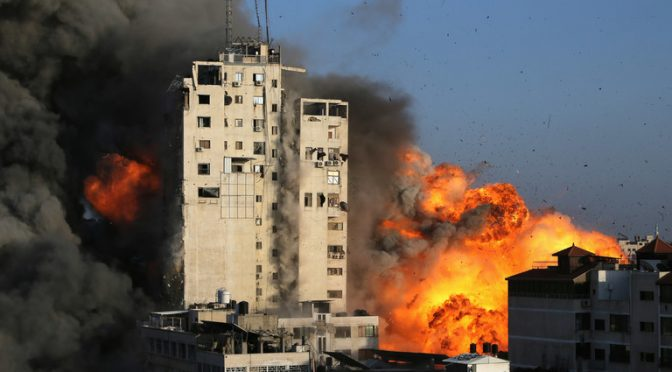 Israel is Obliterating Media Buildings in Gaza to Cover Up the War Crimes