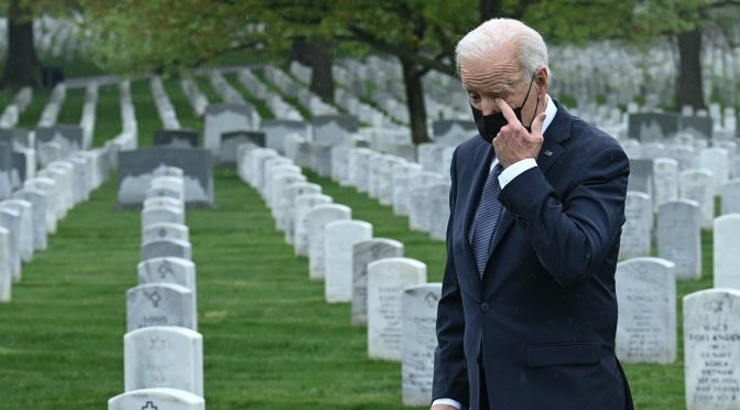 Open Letter From Retired U.S. Military Leaders to 'Dictatorial' Biden Administration Suggests Bad Times Ahead
