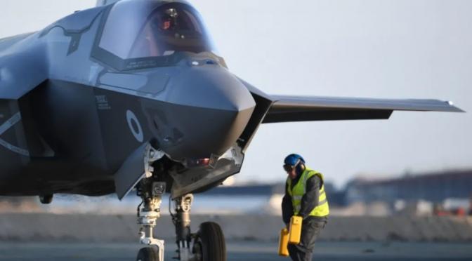 F-35s Bombing Gaza