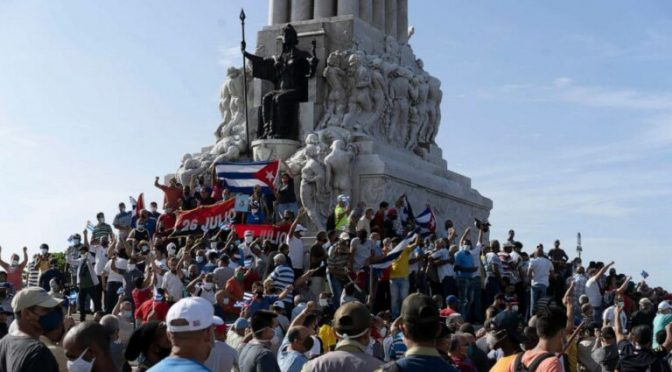 Recent Unrest in Cuba: A Textbook Example of Fake News and Media Warfare