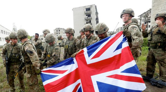 Britain Plans Covert Special Forces Operations Against Russia & China