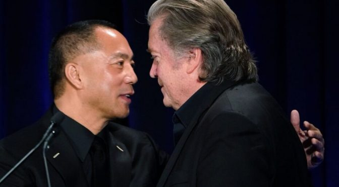 Steve Bannon & Fugitive Chinese Billionaire Scam Trump Base While Beating War Drums on China