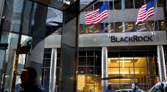 """Global Economic Chaos? BlackRock and Citi Get on Board the """"Climate Train"""""""