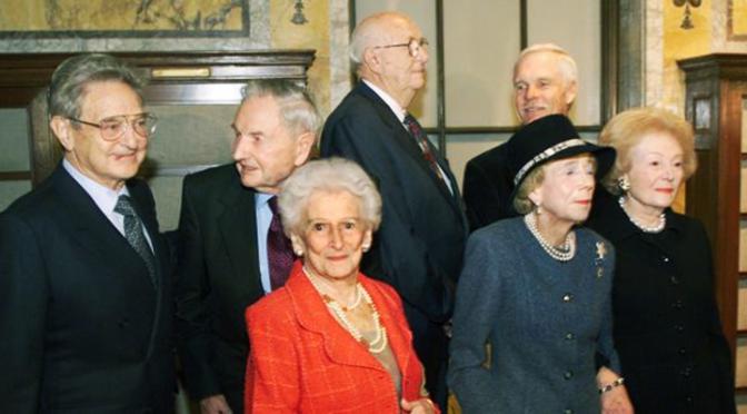 """Shrink the World's Population"": Secret 2009 Meeting of Billionaires ""Good Club"""