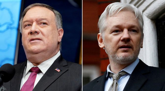 CIA Ready to Snatch or Kill Assange if Russians Try to Help Him Flee